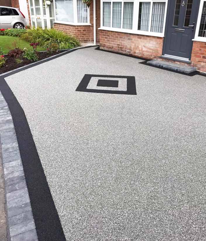 Resin Bound Driveways in Oldham