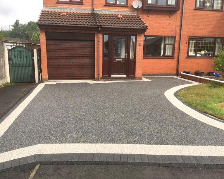 Resin Bound Driveways in Oldham